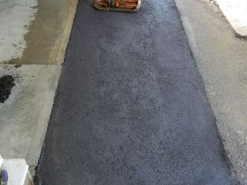 Réalisation DRAINSPEC béton et asphaltage