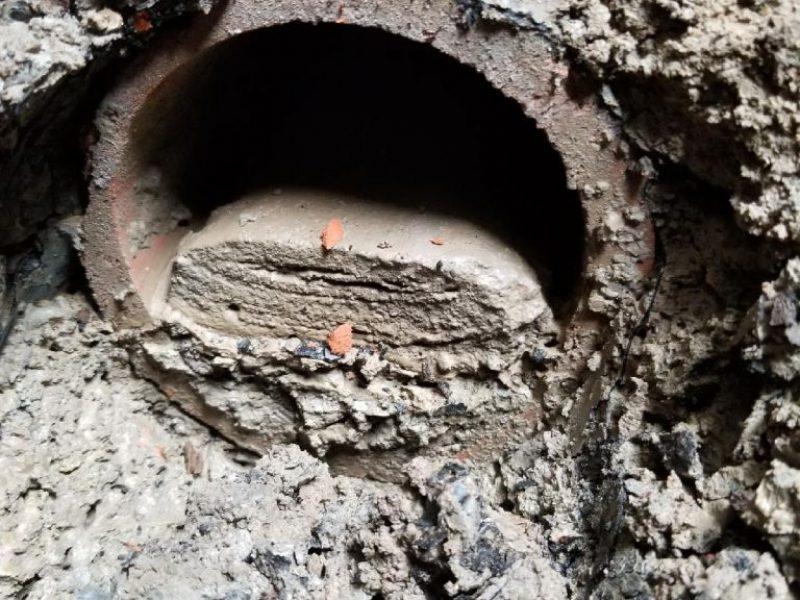 Réalisation DRAINSPEC débouchage égout et drain