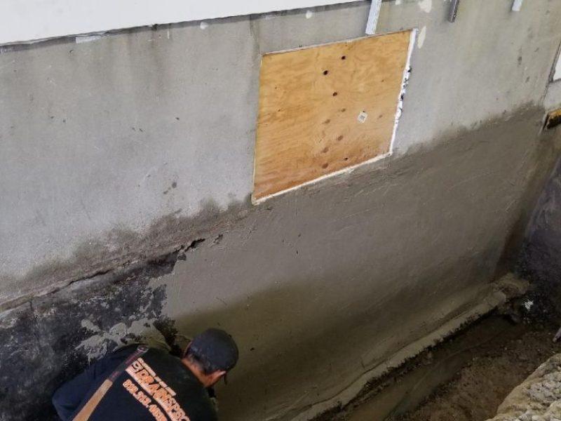 Réalisation DRAINSPEC drainage de fondation