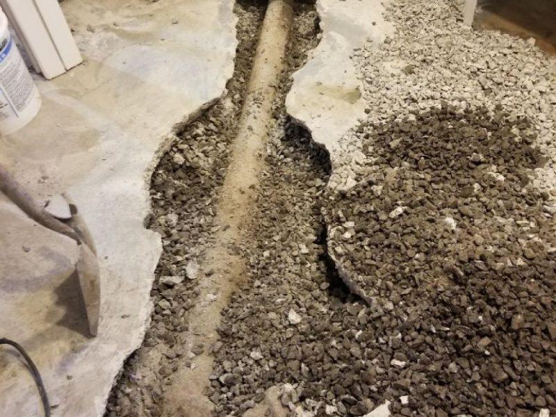 Réalisation DRAINSPEC plomberie remplacement de drain français
