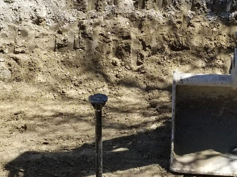 Réalisation DRAINSPEC plomberie entrée d'eau