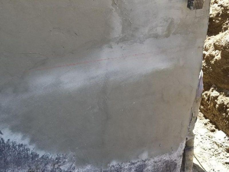 Réalisation DRAINSPEC réparation fissures dans béton