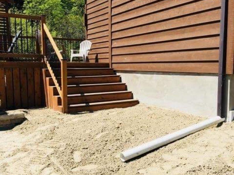 Réalisation DRAINSPEC construction de terrasse et terrassement