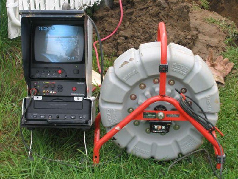 Réalisation DRAINSPEC équipement d'inspection par caméra