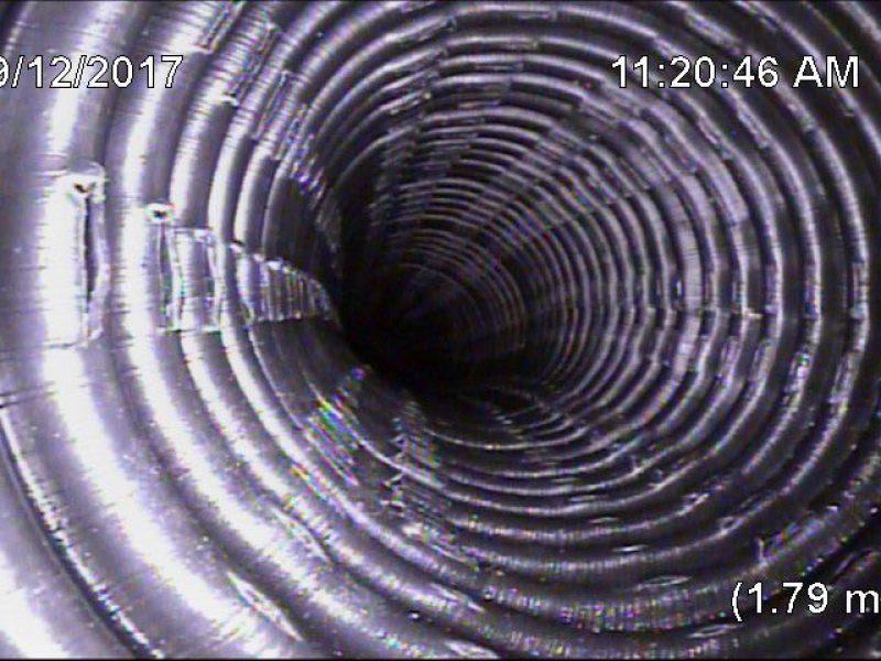 Réalisation DRAINSPEC inspection détection de fuites