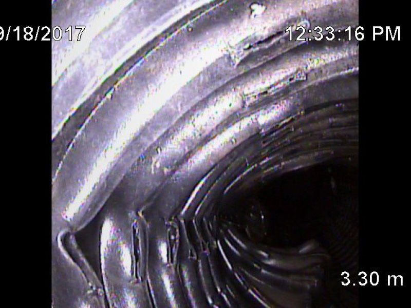Réalisation DRAINSPEC inspection et localisation précise de tuyauterie