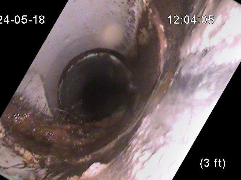 Réalisation DRAINSPEC inspection de plomberie avec caméra vidéo